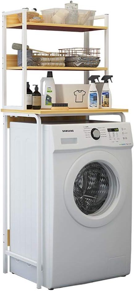 HYHzw Machine Shelf De pie baño Lavabo Estante Inodoro Inodoro ...