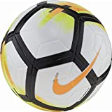 Nike Ordem V Official Match Soccer Ball (White, Laser Orange, Black) Size 5