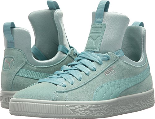 Aquifer US 7 Flower Fierce Suede B Blue Women's PUMA qAHtK