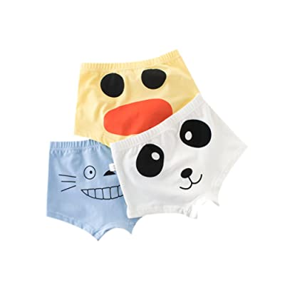 3 PCS Pants in 1 Pack Soft Kids Underwear Comfortable Boy Boxer Brief