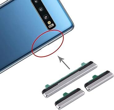 REPUESTOS for Samsung Botón de Encendido y de Volumen Botón de Control for Samsung Galaxy S10 5G (Color : Silver): Amazon.es: Electrónica