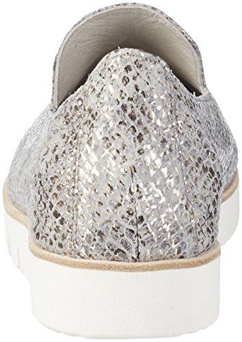 Kennel und Schmenger Schuhmanufaktur 31-91280, Ballerine Donna Grigio (Stone Sohle Weiss)