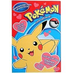 Pokémon Valentine's Day Cards (35) + Stickers