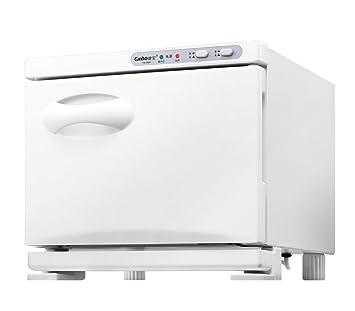 2 en 1 UV Toalla Esterilizador 7L Toalla Calentador Desinfectante Caliente Calentador de toallas Gabinete Casa Facial Piel Spa Herramienta Cabello Belleza ...