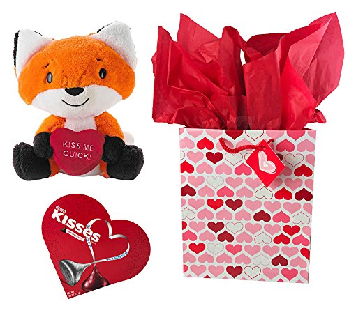 Valentines Gift Set with Hallmark Plush 9