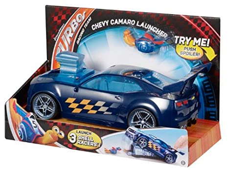 Amazon.com: Dreamworks Turbo Chevy Camaro Launcher Toy Vehicle Playset: Toys & Games
