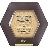 Burts Bees 100 Percent Natural Mattifying Powder Foundation, Bare, 8.5g