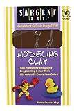 Sargent Art 22-4088 Nonhardening Clay, Brown