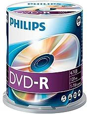 Philips DVD+R Rohlinge DVD-R 100er