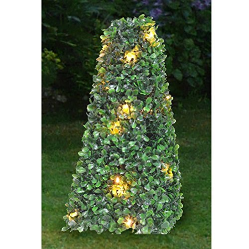 Artificial Topiary Balls With Led Lights - 3