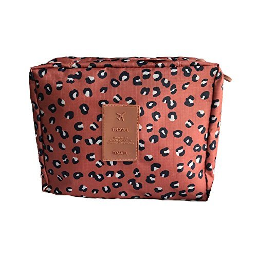 Womens Multifunction Cosmetic Bag Portable Hanging Travel Toiletry Bag Waterproof Makeup Organizer