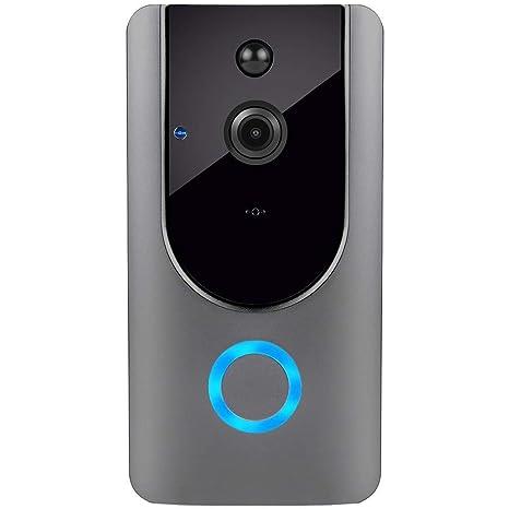 amazon com smart wireless wifi video doorbell hd security camera