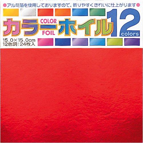 Origamipapier 008002 Origami Folie-Papier 15 cm Toyo 3600