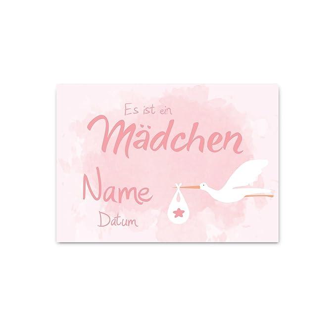 mit Namen des Kindes Striefchen/® Banner zur Einschulung Tafel Datum und Wunschtext 50x70 cm Kunststoffplane