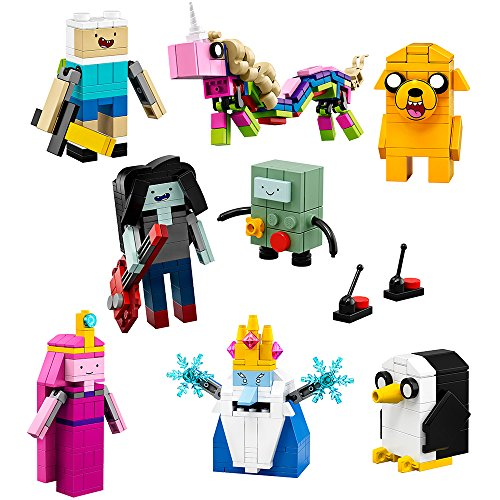LEGO Ideas Adventure Time (21308) - Building Toy and Popular Gift for Fans of LEGO Sets and Cartoon Network (495 Pieces) ()