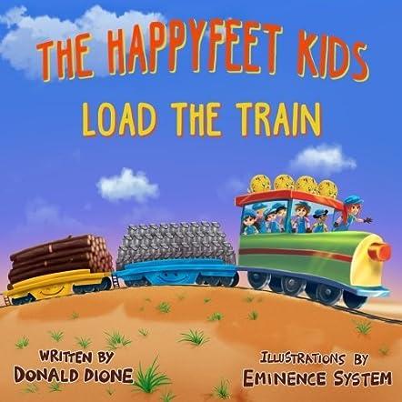 The HappyFeet Kids Load the Train