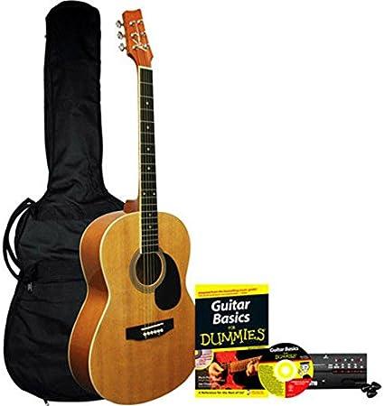 Paquete de guitarra acústica para Dummies: Guitarra Acústica de ...