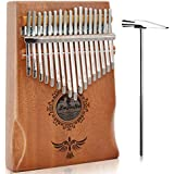 QStyle Kalimba 17 Key Thumb Piano Include...