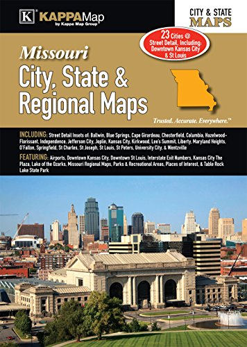 Missouri City, State, & Regional Maps - Missouri State Map