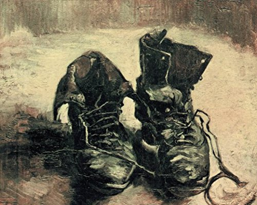 Posters: Vincent Van Gogh Poster Art Print - Still Life, A Pair Of Shoes, 1886 (20 x 16 inches) (Van Gogh Pair Shoes Vincent)