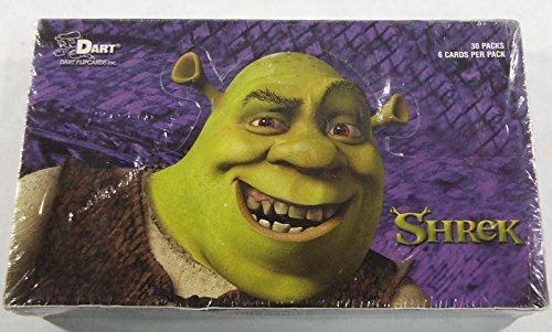 2001 Shrek Trading Card Box by Dart Flipcards, Inc. 30 packs per box by Dart Flipcards Inc.