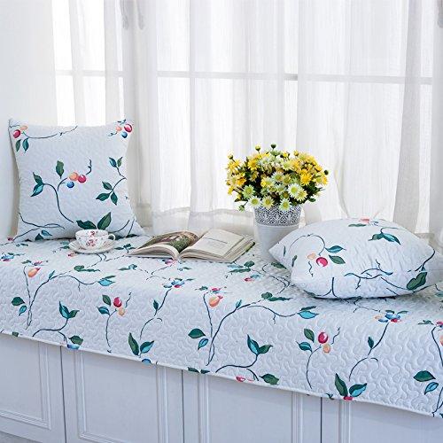 GX AI YY New Day®-Finestra Pad Inverno Balcone Pastorale Tappetino Antiscivolo Moderno e Minimalista, 70  150
