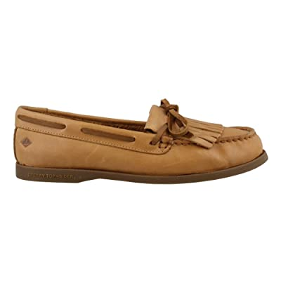 Women's Sperry, Authentic Original Prima Boat Shoes TAN 7 M