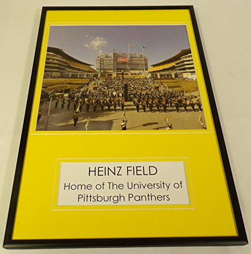 Heinz Field Home of the Pitt Panthers Football Team Framed 12x18 Photo Display