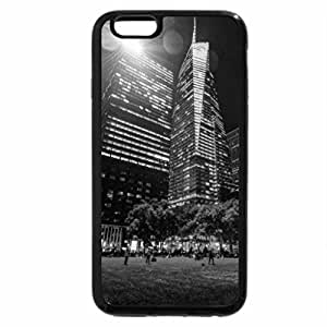 iPhone 6S Case, iPhone 6 Case (Black & White) - Bryant Park In New York