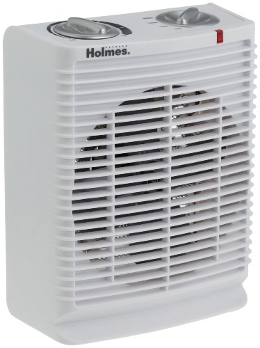 Holmes Portable Desktop Heater with Comfort Control Thermostat and Cool-Touch Housing, HFH111T-NU
