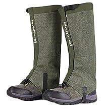 16.9'' Outdoor Sports Gaiters Muti-useful Boot Gaiters Leg Gaiters