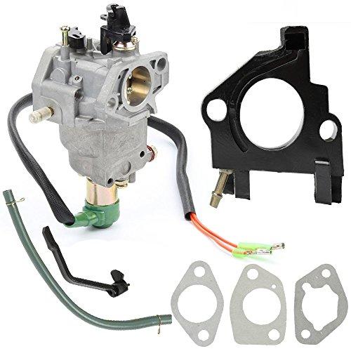 Buckbock Manual Choke Carburetor Carb for Generac Centurion 55771 0055771 5000 6250 Watt Troy-Bilt XP 7000 10500 Watt 30477 030477 Gas Generator