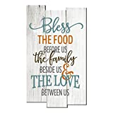 Cheap MRC Wood Products Bless The Food Before Us Rustic Wall Sign 11×18
