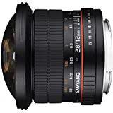 SAMYANG サムヤン 12mm F2.8  ED AS NCS FISH-EYE フールサイズ フィッシュアイ Canon キャノン用【並行輸入品】