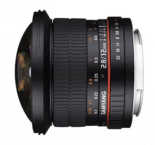 SAMYANG サムヤン 12mm F2.8  ED AS NCS FISH-EYE フールサイズ フィッシュアイ Nikon ニコン用【並行輸入品】   B00SX4YGFA