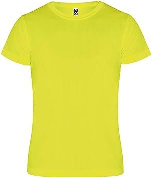 ROLY Camimera, Camiseta, Amarillo flúor: Amazon.es: Deportes y aire libre