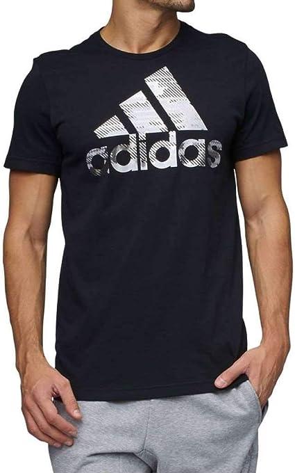 Adidas Camiseta de manga corta para hombre, diseño de