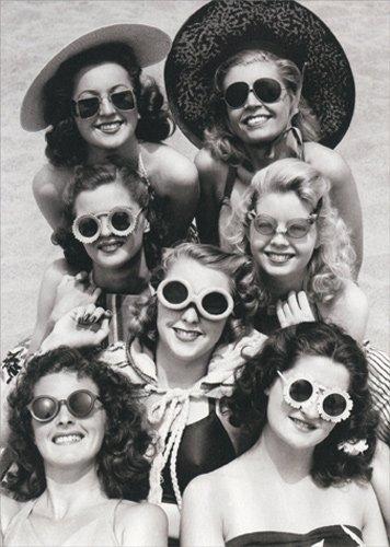 Women Wearing Sunglasses - Avanti America Collection Birthday - Bunch A Sunglasses Of