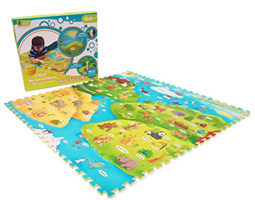 Creative Baby i-Mat My Animal World Soft Educational Playmat