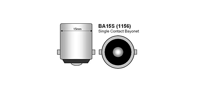 2x 50W PURE WHITE LED P21W 1156 BA15S  ERROR FREE DRL REVERSE LIGHT