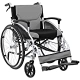 Folding Aluminium Self Propelled Wheelchair with Attendant Handbrakes by Z-Tec