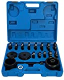 8MILELAKE 23 Piece FWD Front Wheel Drive Bearing Adapters Puller Press Replacement Installer Removal Tools