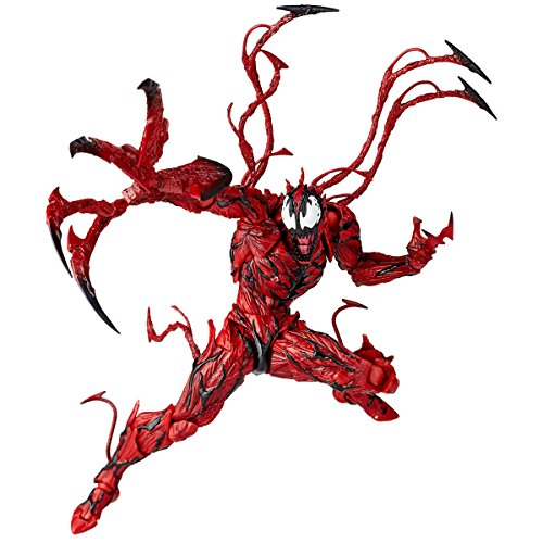 figure complex AMAZING YAMAGUCHI Carnage About 155 mm ABS & PVC painted action figure Revoltech Japan Import from Kaiyodo