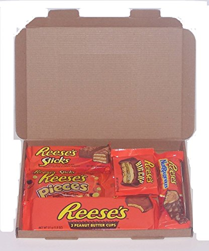 Reeses American Candy Gift Box Wedding Birthday Party Retro Sweets Reeses R5