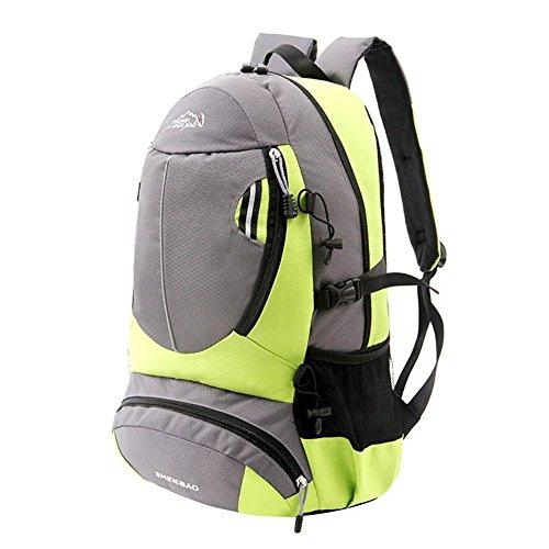 flyingsky Outdoor Wandern Rucksack Daypacks Klettern Rucksack o.ä Reisetasche lichtgrün