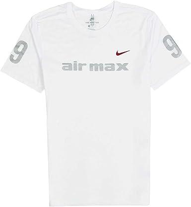 falso asustado muerto  Nike AIR Max 97 Man t-Shirt in Black Fabric 856440-010: Amazon.co.uk:  Clothing