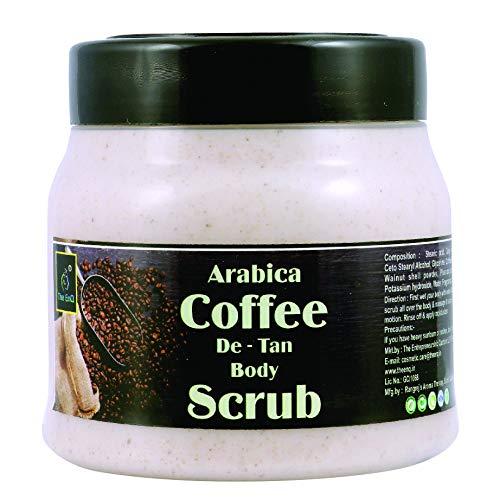The EnQ ARABICA COFFEE DE – TAN BODY SCRUB (COFFEE BODY SCRUB)