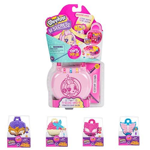 Shopkins Lil' Secrets Secret Lock Mini Playset Princess Hair