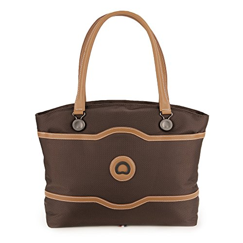 delsey-luggage-chatelet-softside-womens-tote-chocolate