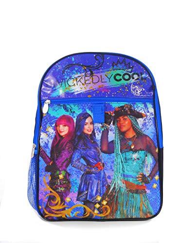 Disney Girls' Descendants 5 Pc Set Backpack, Blue, One Size -